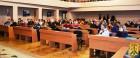 Під головуванням міського голови Л.Дромашко відбулось засідання 22 сесії Первомайської міської ради сьомого скликання.
