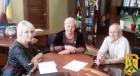 Відбулась робоча зустріч міського голови Людмили Дромашко з керівником проектів та програм Асоціації «Енергоефективні міста України» Олегом Гарасевичем.