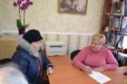 В приміщенні ЗОШ№1 міський голова Л.Дромашко здійснила виїзний особистий прийом громадян