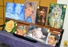 Виставку-продаж творчих робіт людей з обмеженими фізичними можливостями.