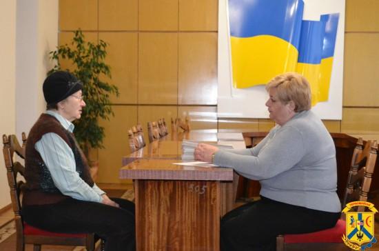 Міський голова Л.Дромашко здійснила особистий прийом громадян.