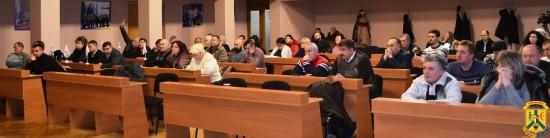 Засідання 26 позачергової сесії міської ради