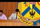 Під головуванням секретаря міської ради Наталії Сабліної відбулося засідання 13 чергової сесії Первомайської міської ради сьомого скликання.