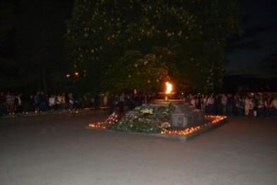 В рамках відзначення Дня пам'яті і примирення, який цьогоріч відзначається в Україні вдруге, первомайці приєдналися до вшанування пам'яті загиблих в роки Другої світової війни