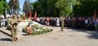 Пройшла урочиста хода «І пам'ять поколінь єднає нас…» за участю ветеранів Великої Вітчизняної війни, членів громадських організацій: «Діти війни», товариства ветеранів Афганістану, військових пенсіонерів, військовослужбовців 40-ї окремої артилерійської б