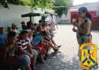 Для дітей (7-14 років) табору «Гарт» проведені заходи на теми: «Торгівля людьми – сучасне рабство», «Факти, що примушують про це говорити».