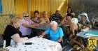 В  мікрорайоні квартального комітету № 57 по вул. Дачна, 21 відбувся виїзний особистий прийом громадян Первомайським міським головою Л.Дромашко.