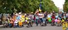 Вулицею Т.Шевченка пройшов парад дитячих візочків «Бебі – бум» в рамках свята «У кожній родині – майбутнє України».