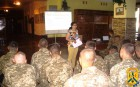 Для військовослужбовців військової частини А 2183 була проведена лекція з використанням соціального відеоматеріалу