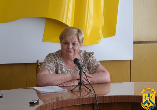 В приміщенні виконавчого комітету міської ради відбулась прес-конференція для місцевих засобів масової інформації за участю міського голови Людмили Дромашко.