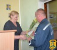 Міський голова Л.Дромашко привітала з Днем рятівника працівників