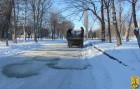 Розчищення міста від снігу