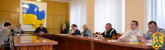 Засідання міського штабу із забезпечення безперебійної роботи об'єктів життєдіяльності населення