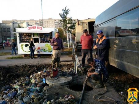 Один день роботи аварійної бригади на мережах водопроводу