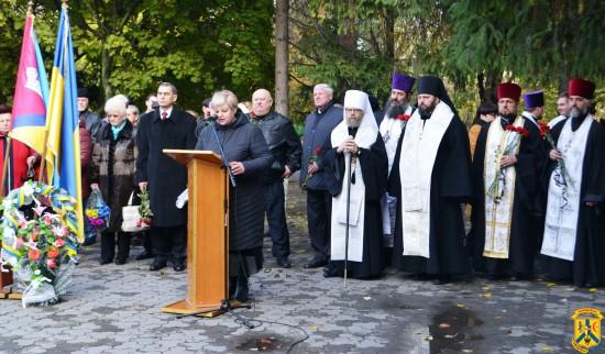 Відзначення 73-ї річниці визволення України від фашистських загарбників