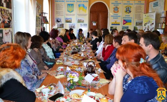 Одинадцята зустріч начальника управління освіти Г.Остапенко з педагогами міста