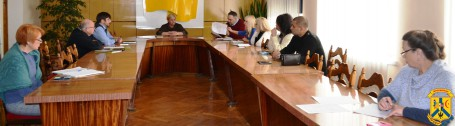 Засідання комісії по розгляду питань щодо впорядкуванню торгівлі на вулицях прилеглих до ТОВ «Флора.»