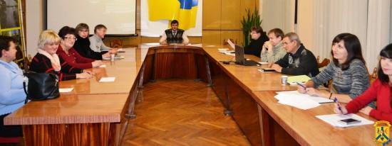 Чергове засідання робочої групи з питань Бюджету участі