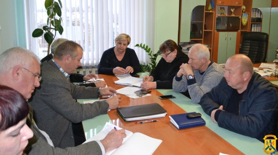 Чергова нарада з керівниками підприємств житлово-комунального господарства