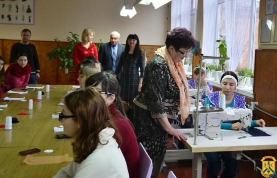 Церемонія відкриття навчально-практичного центру сучасних швейних технологій