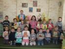 Бібліотечний десант у дошкільний заклад № 1 «Ластівка» «Бібліотека вітає з новим роком!»
