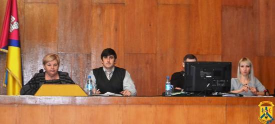 Засідання чергової 54-ої сесії міської ради