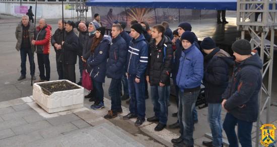 Церемонія відкриття Пам'ятної дошки в знак вшанування подій Української революції 1917-1921 років