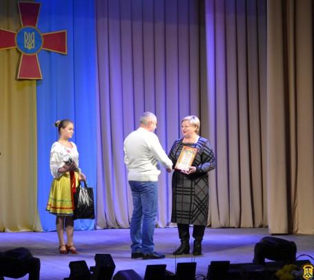 Урочисті збори та святковий концерт присвячені Дню Збройних Сил України та Міжнародному дню волонтера