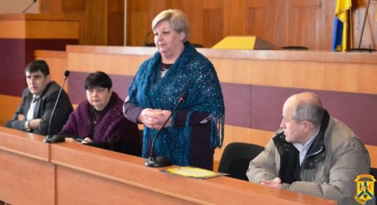 Зустріч міського голови Л.Дромашко з воїнами-інтернаціоналістами