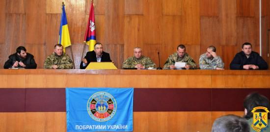 Обговорення проблемних питань соціального захисту учасників антитерористичної операції