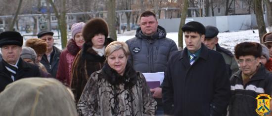 Зустріч міського голови Л.Дромашко з жителями мікрорайону «Коротченка»