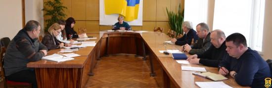 Засідання штабу з керівниками КП та працівниками управління ЖКГ