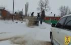 Роботи по розчищенню вулиць міста від снігу