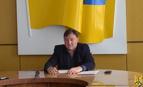 Прес-конференція головного лікаря Первомайської центральної міської багатопрофільної лікарні О. Чекрижова