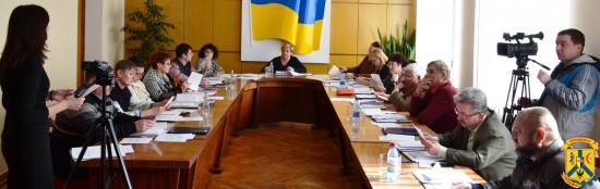 Під головуванням міського голови Л.Дромашко відбулось чергове засідання виконавчого комітету Первомайської міської ради