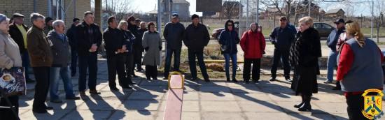 Зустріч міського голови Л.Дромашко з мешканцями мікрорайону міста «Котеджі»