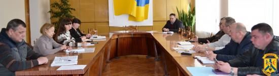 Нарада з керівниками КП та працівниками управління ЖКГ
