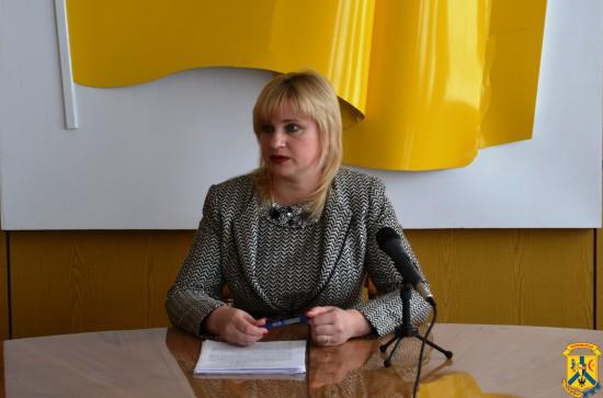 Прес-конференція заступника Первомайського міського голови С.Свідерко