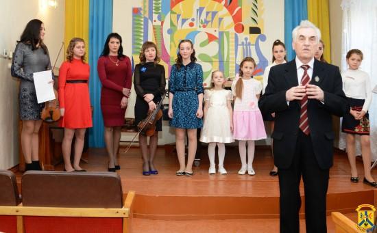 Концерт, приурочений до жіночого свята 8 Березня