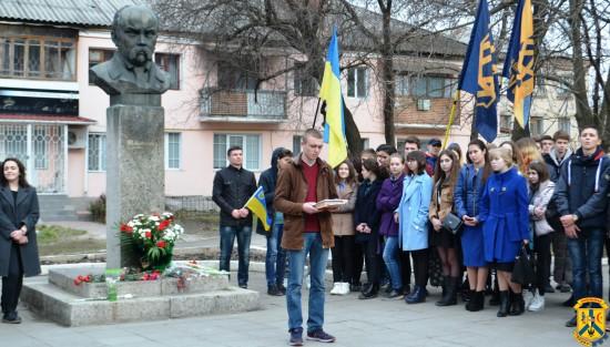 Міжнародний флешмоб на вшанування пам'яті Кобзаря