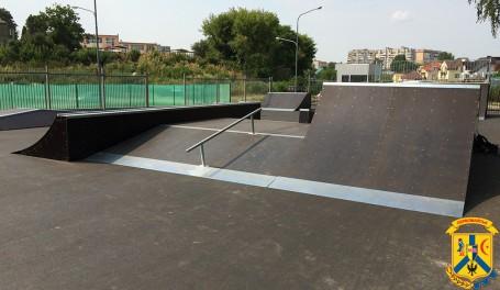 Відкриття скейт-майданчику