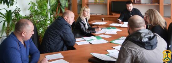 Засідання комісії міської ради з питань законності