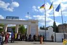 Урочиста церемонія підняття Державного Прапора України, Прапора Європейського Союзу та Прапора міста Первомайська