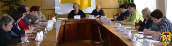 Засідання тристоронньої соціально-економічної ради при виконавчому комітеті
