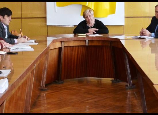 Чергова нарада з керівниками КП та працівниками управління ЖКГ