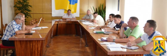 Засідання місцевої комісії з питань техногенно-екологічної безпеки та надзвичайних ситуацій