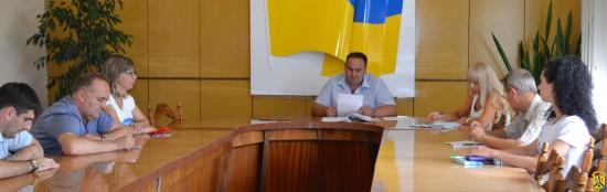 Засідання комісії для розгляду листа КП «Флора»