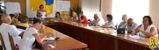 Навчання-тренінг з написання проектів для прийняття участі у громадському проекті «Бюджет міських ініціатив»