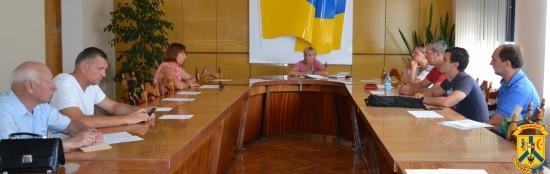 Чергове засідання Громадської ради при виконавчому комітеті міської ради