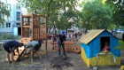 Встановлення дитячого майданчику